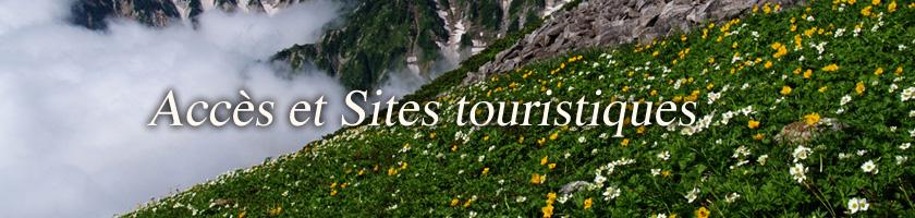 Accès et Sites touristiques