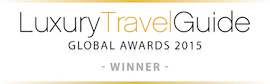 LuxuryTravelGuide GLOBAL AWARDS 2015 WINNER